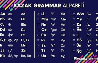 Kazak Türkçesi, Kazak Alfabesi