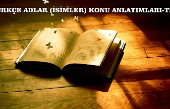 ADLAR (İSİMLER)KONU ANLATIMI VE ÖRNEKLER: Adlar, ad, ad nedir, adlar konu anlatımı, özel adlar ve tür adları,Türkçe adlar konusu