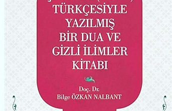 Çağatay Türkçesiyle Yazılmış Bir Dua ve Gizli İlimler Kitabı