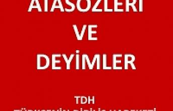 Atasözleri ve Deyimler, Atasözleri ve Anlamları, Türkçe Atasözleri U-Ü