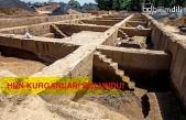 Çin'de 1800 yıl önceye ait Hun mezarları bulundu