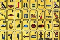 Mısır Alfabesi, Mısır alfabesi harfleri,  Mısır hiyeroglif alfabesi ve anlamları