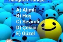 Hangileri Türkçe