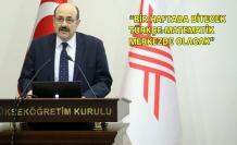 YÖK Başkanı üniversiteye girişte yeni sınav sisteminin ayrıntılarını açıkladı