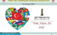 TDH Derneği, 2017 Türk Dili Yılı Kapsamında 'Türk Dili Konuşan Ülkeler Kurultayı'na davet edildi.