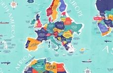 Ülke isimlerinin anlamları, ülkelerin eski ve yeni isimleri, hangi isim hangi ülkeye ait, ülkelerin adları nereden gelir?