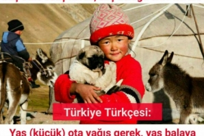 Altay Türkçesinden Sözler, Altay Türkçesi