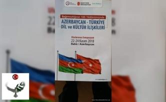 Azerbaycan'daki Sempozyuma Çağrı-Prof. Dr. Bilgehan Atsız Gökdağ