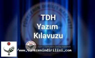 YAZIM KILAVUZU (İmla Kılavuzu) -  E Harfi