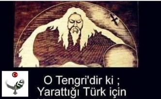 Türklerde Kök Tengri inancı - Mavi gökyüzü