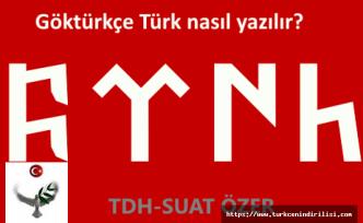Göktürkçe Türk kopyala yapıştır, whatsapp durum yazısı nasıl yazılır, Türk fyhn, Göktürkçe ftnh,  Göktürkçe Türk yazmak