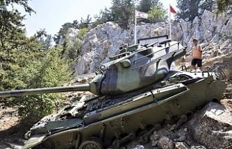 Kıbrıs Beşparmak Dağları'na çıkıp orada mahsur kalan tankımızın öyküsü