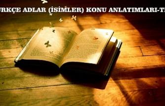 ADLAR (İSİMLER) KONU ANLATIMI 1