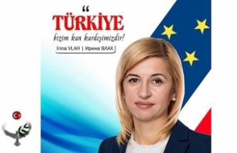 Gagavuzeli Başkanı İrina Vlah'tan Türkçe yeni yıl kutlama iletisi