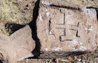 Erzurum'da MÖ 600'lü yıllara ait Türk tamgaları bulundu