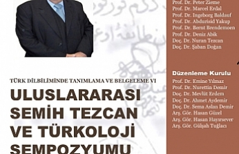 Uluslararası Semih Tezcan ve Türkoloji Sempozyumu