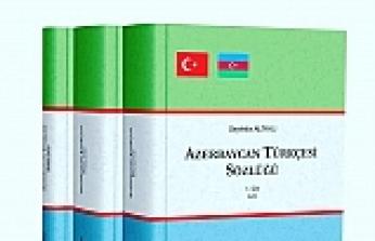 Azerbaycan Türkçesi Sözlüğü Yayınlandı