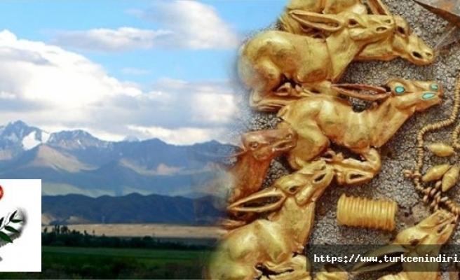 Kazakistan'da 3 bin yıllık İskit mücevherleri bulundu.