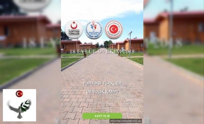 Yurtdışı Türkler Gençlik Kampı gerçekleşecektir.