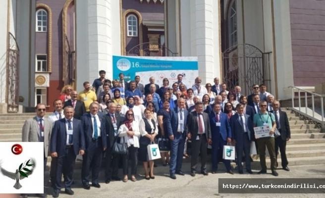 16. Uluslararası Türk Dünyası Sosyal Bilimler Kongresi Kazakistan'da Yapıldı