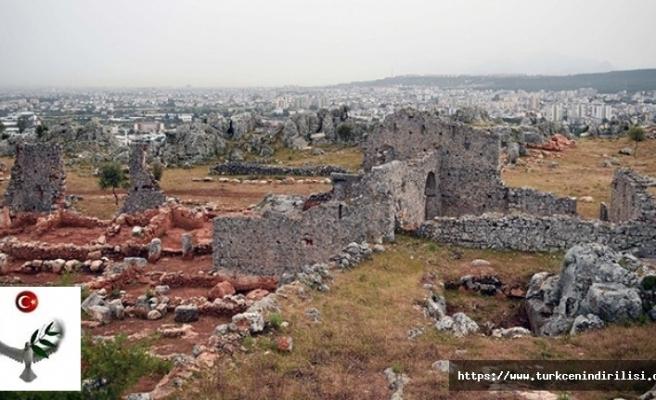 Antalya'da 2200 yıllık şehir ortaya çıkarıldı.