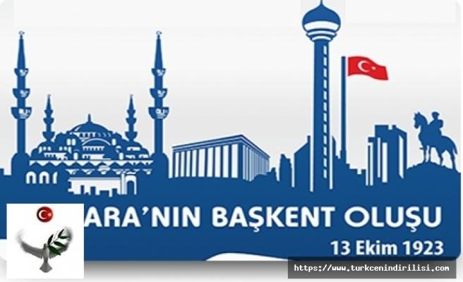 13 Ekim Ankara'nın Başkent Oluşu Tören Programı,Ankara'nın Başkent Oluşu Kutlama Programı indir