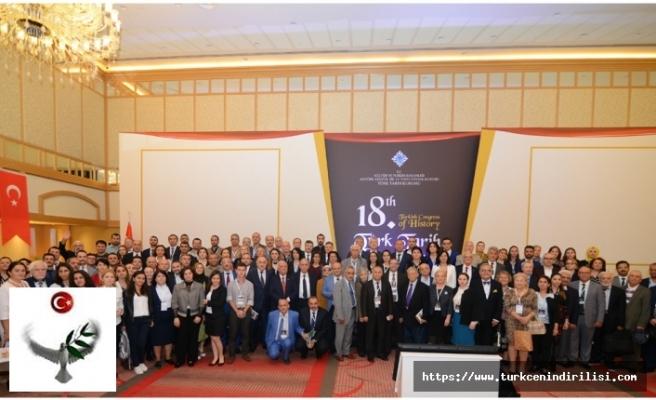 18'inci Türk Tarih Kongresi Tamamlandı