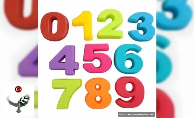 Üleştirme sayıları nasıl yazılır?,Türkçede sayıların yazılışı, sayılar nasıl yazılır?