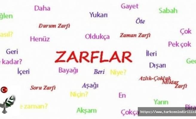 Zarf Tümleci - Edat Tümleci