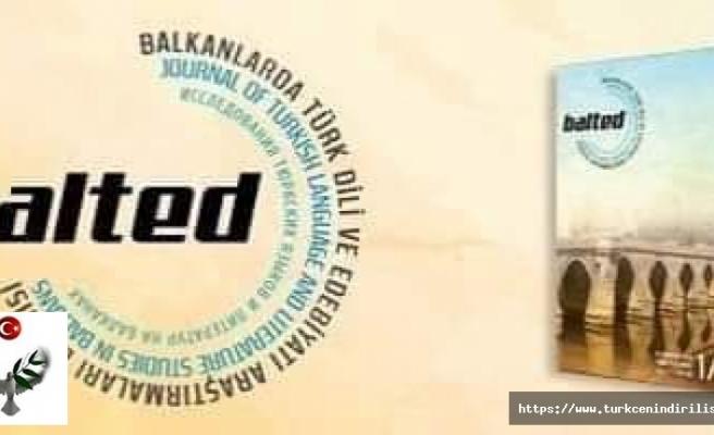 Balkanlarda Türk Dili ve Edebiyatı Araştırmaları Dergisi (BALTED