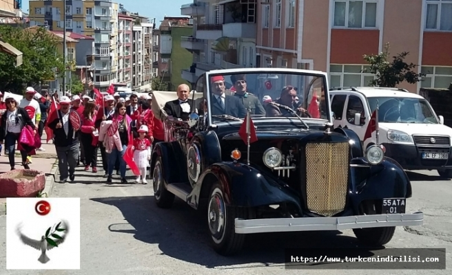 23 Nisan'da Samsun'dan Ankara'ya İlk Adım Büyük Yürüyüşü'ne Başlıyoruz