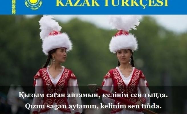 Kazak Türkçesi, Kazakça, Kazakça Dersler