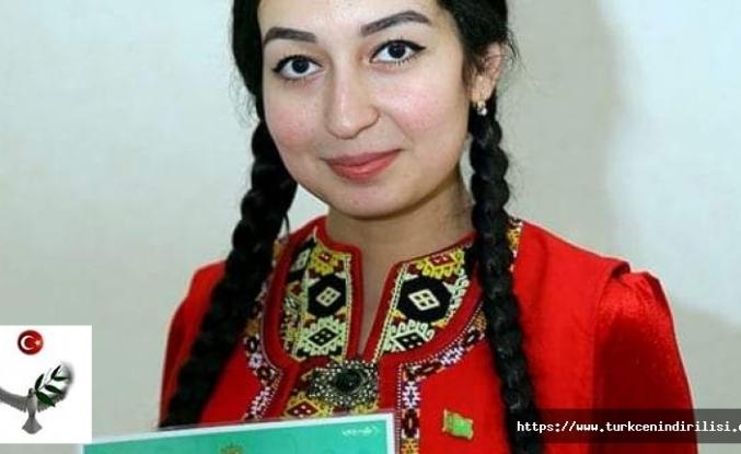 Meniň adym Selbi Myradowa. Men Türkmen Döwlet Uniwersitediniň talyby