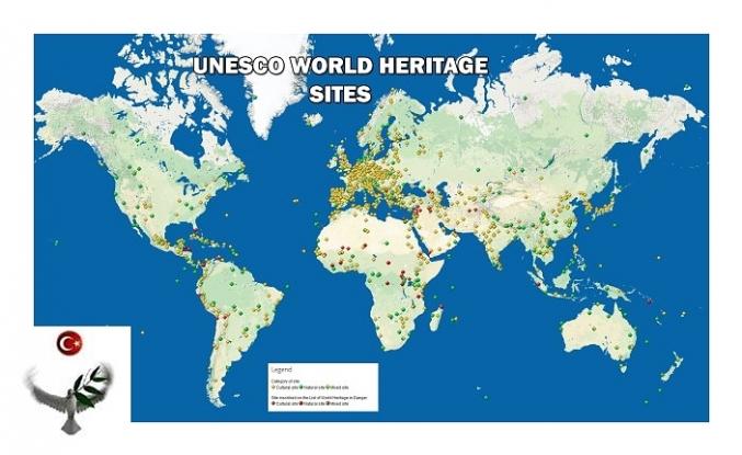 Türkiye'de Bulunan 18 UNESCO Kültür Mirası