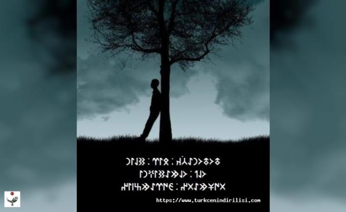 Göktürkçe Dersler, Göktürkçenin Kuralları ve Örnekleri
