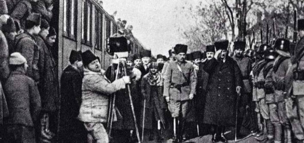 Atatürk'ün Ankara'ya Gelişi - 27 Aralık 1919