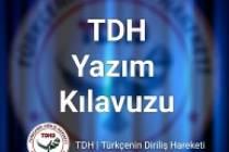 YAZIM KILAVUZU (İmla Kılavuzu) - D Harfi