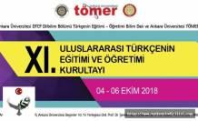 XI. Uluslararası Türkçenin Eğitimi ve Öğretimi Kurultayı, Türkçenin Eğitimi ve Öğretimi Kurultayı