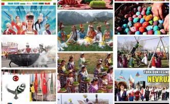 TÜRK DÜNYASININ  NEVRUZ BAYRAMI - Dr. Shurubu Kayhan
