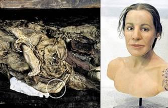 Bilinen ilk dövmeli mumya olan Türk Buz Kızı, yeniden gömülecek!