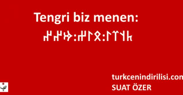 Tengri biz menen ne demek Türkçe, Tengri biz menen demek günah mı?