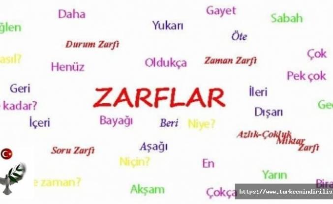 Zarf-Fiil (Bağ-Fiil, Bağeylem, Ulaç) Nedir? Zarf-Fiil Grupları