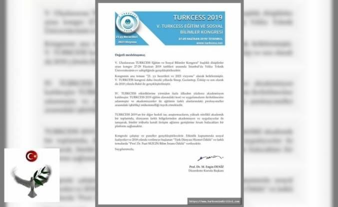 V. Uluslararası TURKCESS Eğitim ve Sosyal Bilimler Kongresi