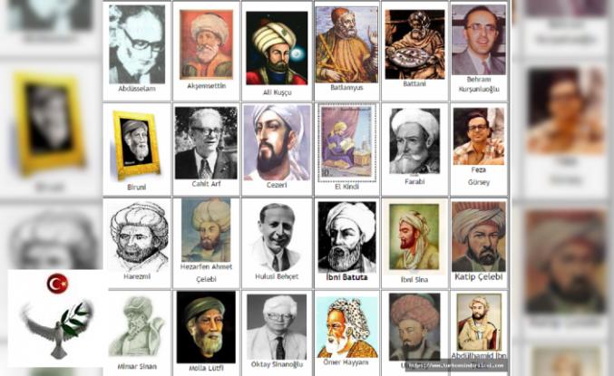 Türk Bilim İnsanları, Önemli Türk Bilim Adamları, Türk Bilginler ve Eserleri