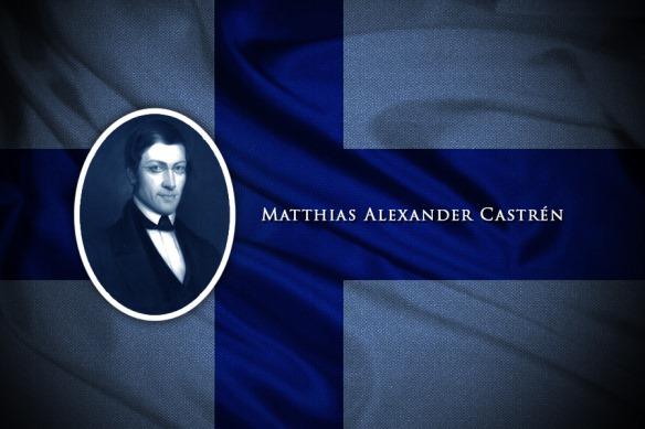 Turancılık akımının kurucusu ve öncüsü Profesör Mathias Alexander Castren (1813-1852) Finlandiya