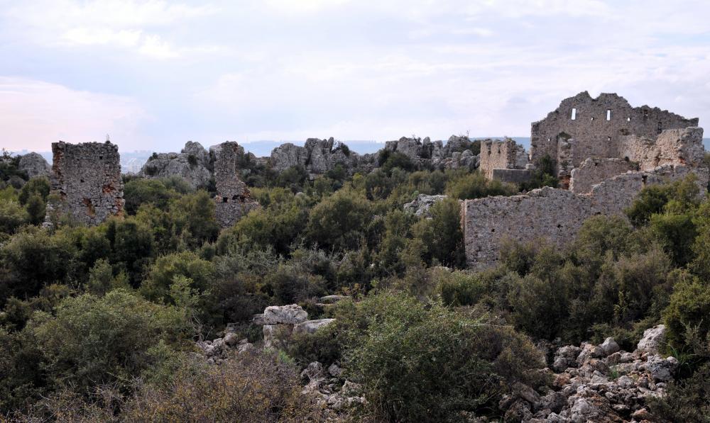 Perge Antik Kepez Antalya Lyrboton Kome Antik Kenti
