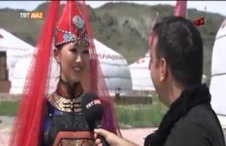 Menin adım Aykız, Tuva Türkleri